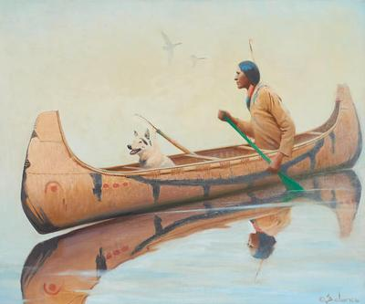 Menominee Hunter 30 x 36in